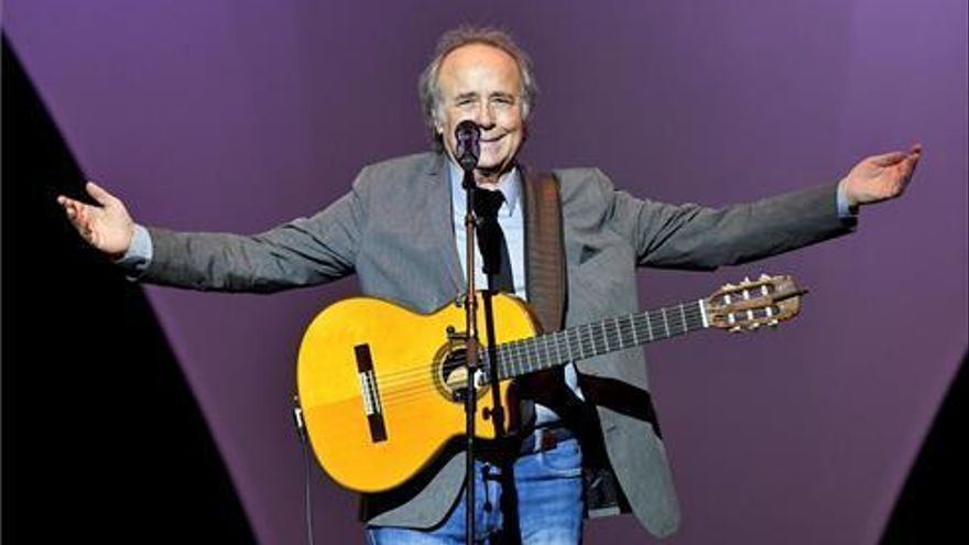 Serrat cancela seis conciertos de la gira por una laringitis