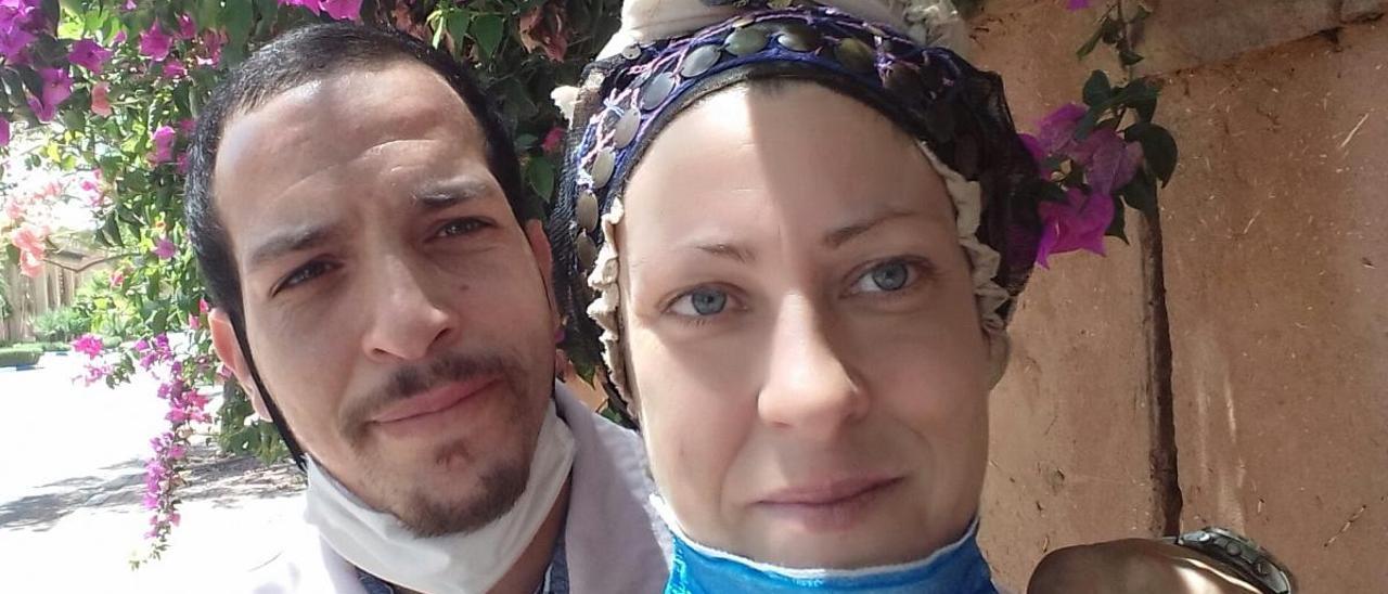 """""""Atrapada"""" en Marrakech tras tener que cancelar su boda por el coronavirus"""