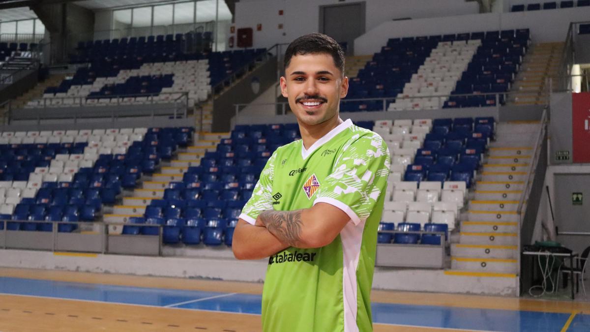 El brasileño Daniel Airoso llegó al Palma Futsal a principios de enero