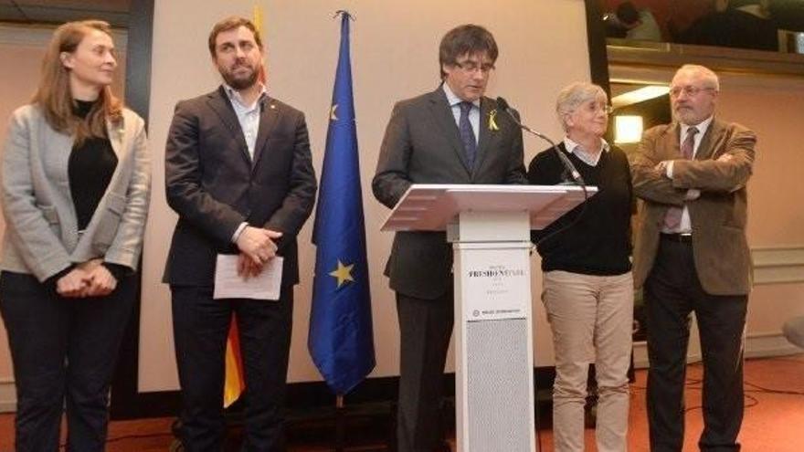 Reactivadas las euroordenes de Comín, Ponsatí y Puig