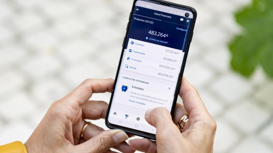 BBVA, líder en banca móvil