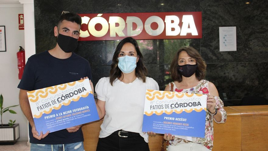 Los ganadores del 8º Concurso Fotográfico Patios de CÓRDOBA reciben sus premios