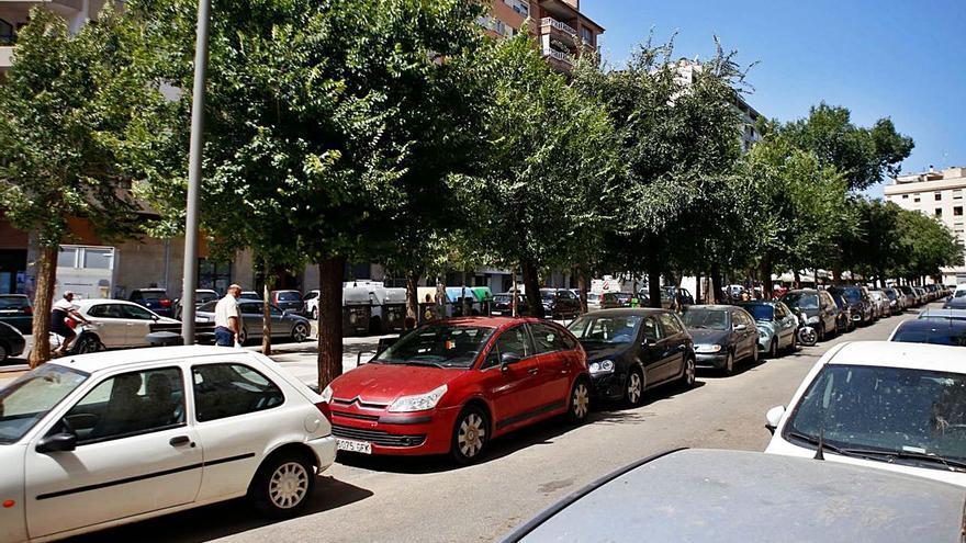 El parking de Josep Darder, pendiente de la reurbanización