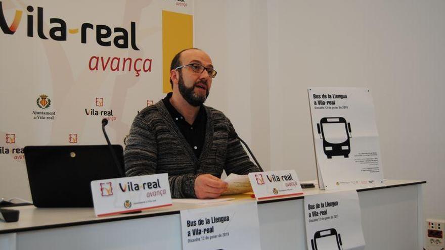 El Bus de la Llengua arriba a Vila-real del 10 al 14 de gener