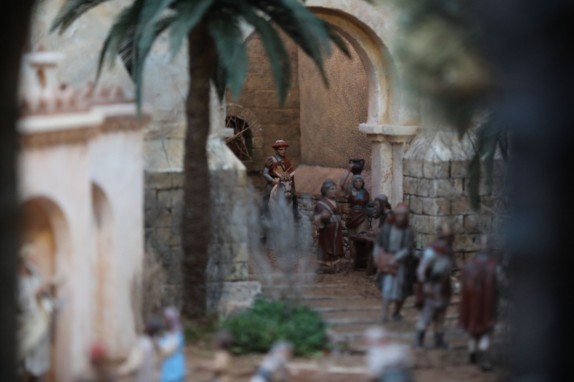 Inauguración del Belén de Navidad en Elche
