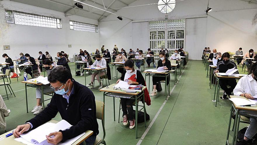 Primeras oposiciones de educación en Lalín y A Estrada