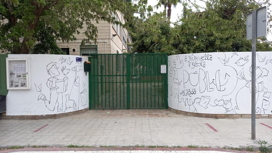 El CEIP Ramón y Cajal de Xirivella mantiene el aula que inhabilitó Educación