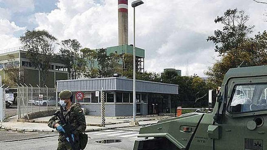 El Ejército vigila las infraestructuras básicas
