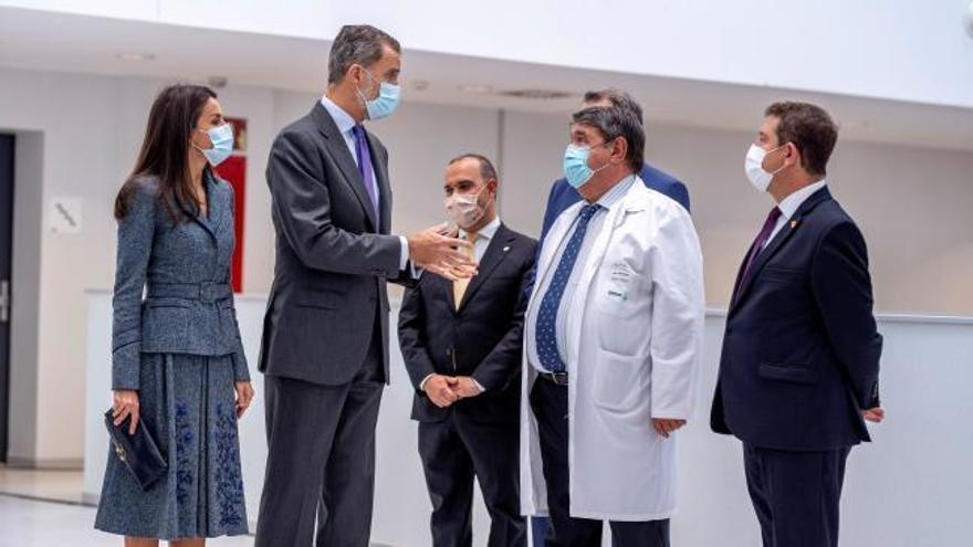 Los Reyes inauguran el nuevo hospital de Toledo