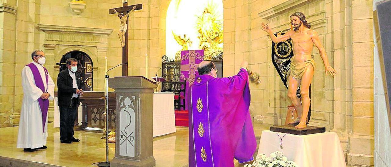 L'Alcora presenta su nueva imagen del Cristo Resucitado