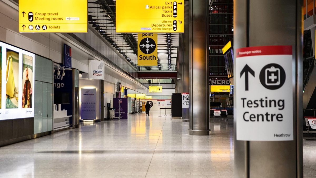 Aeropuerto de Heatwrow, en Londres.