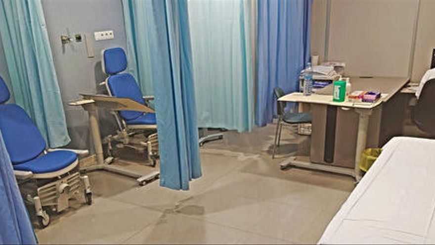 L'hospital de Figueres habilita un espai prealta per alliberar llits