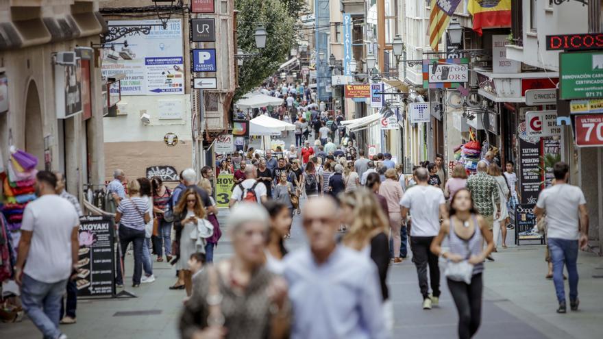 La población crece en Baleares más que en ninguna comunidad autónoma