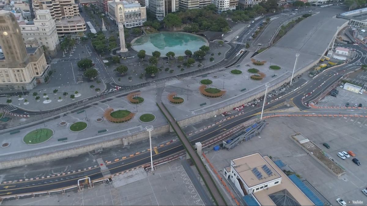 Zona en la que se construirá el futuro parque de la Gesta.