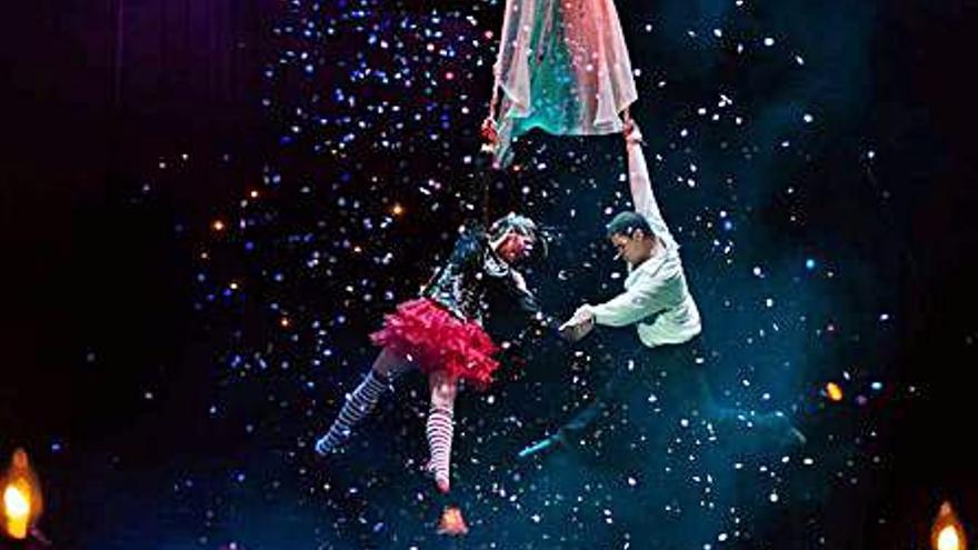 El Circo Gran Fele arriba hui a Tavernes amb el seu últim espectacle
