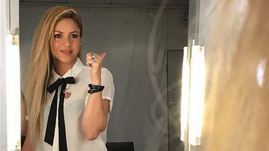Shakira paga más de 20 millones a Hacienda