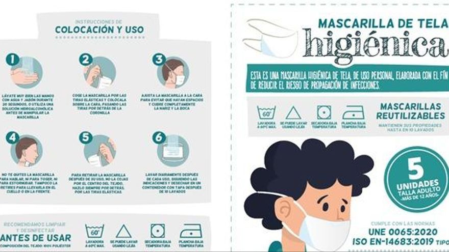"""Consum se suma a la venta de mascarillas con un producto """"made in València"""""""