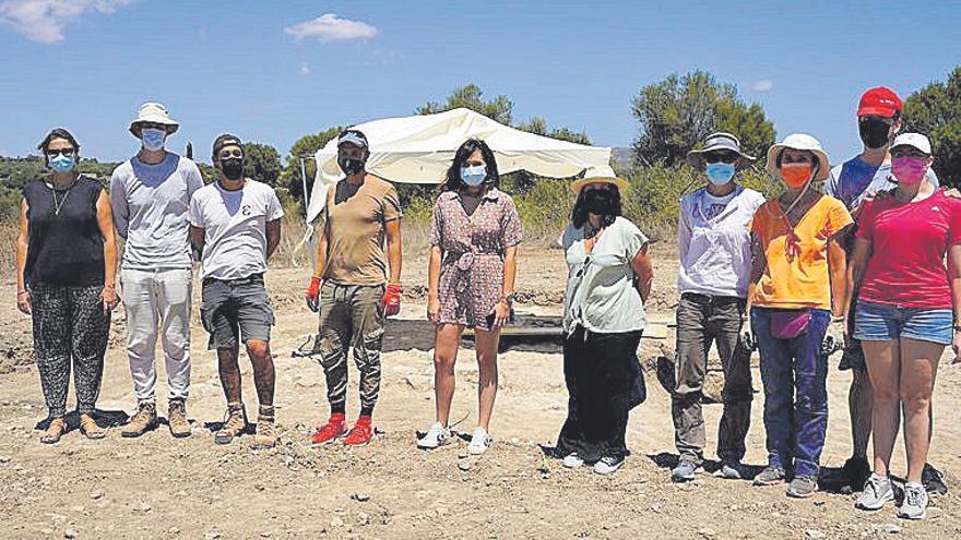 Descubren en Manacor restos constructivos en una parcela no excavada de Son Peretó