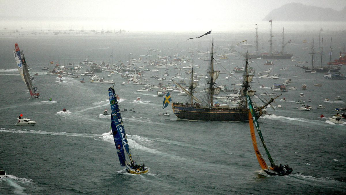 Volvo Ocean Race 2005 en Vigo
