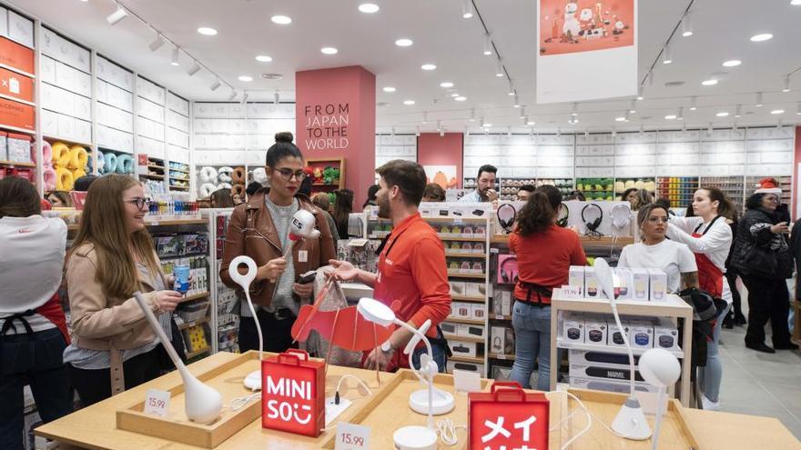 Miniso abre su primera tienda en Murcia