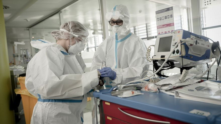 Baleares suma 767 nuevos contagios y un 11,6% más de hospitalizados en un día