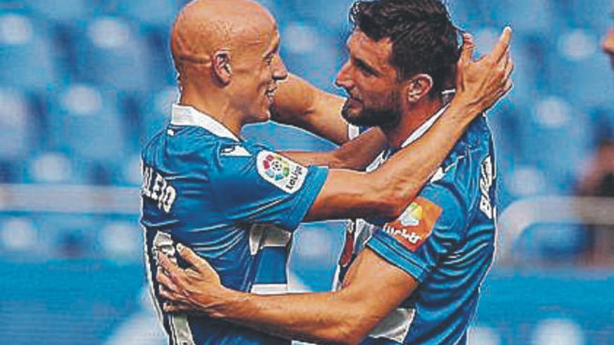 El Deportivo remonta en el alargue y llega reforzado al Heliodoro Rodríguez López