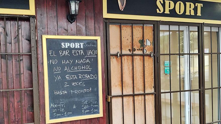 Negocios de Ibiza alertan de robos mientras están cerrados