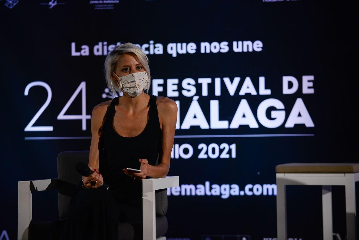 Las imágenes de la rueda de prensa de los ganadores del Festival de Málaga 2021