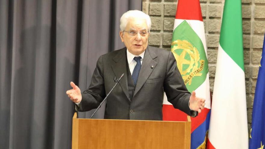 Mattarella abre las consultas para formar gobierno en Italia