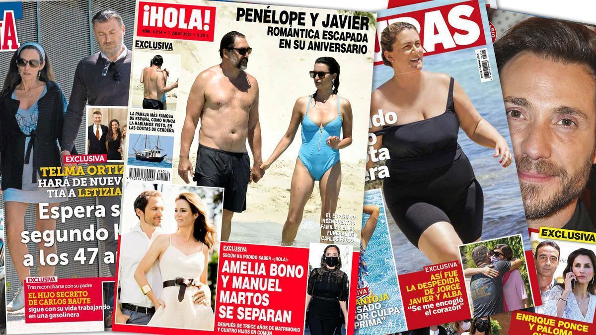 Prensa Rosa: Portadas 30/06/2021