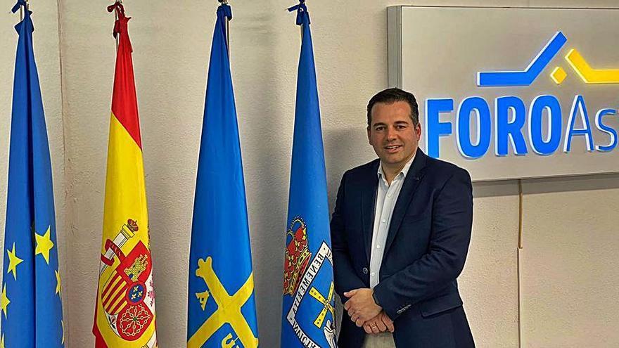 El empresario Carlos Suárez, nuevo presidente de Foro Oviedo