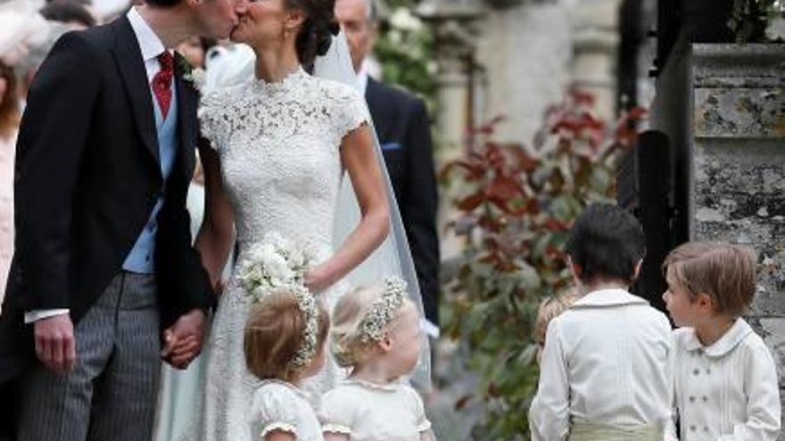 Pippa Middleton se casa con el financiero  James Matthews