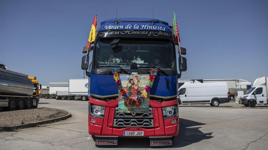 Los camioneros zamoranos festejan su patrón, San Cristobal
