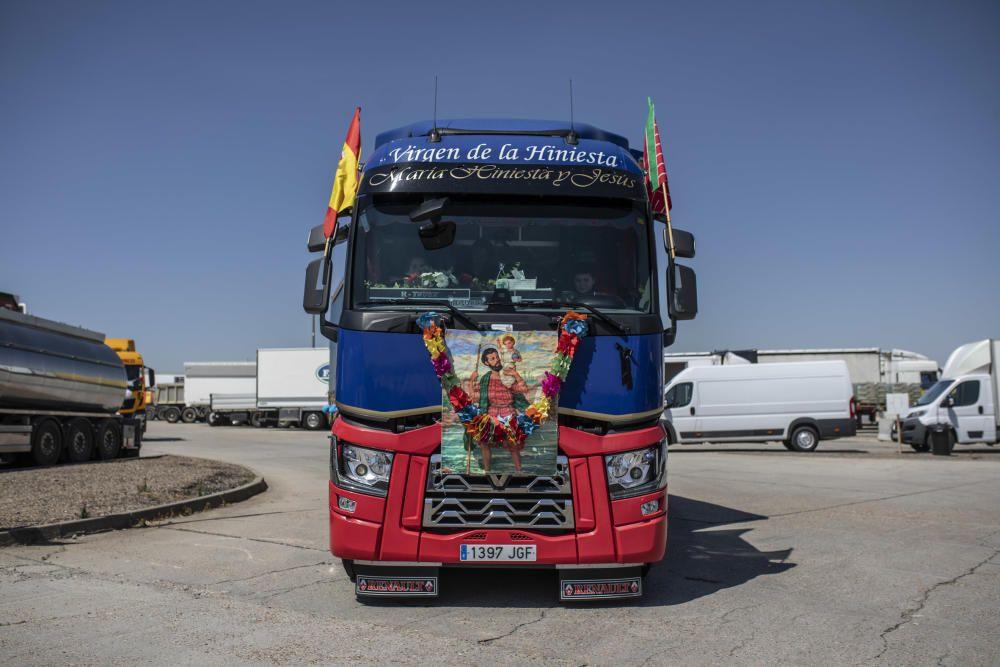Los camioneros zamoranos festejan su patrón