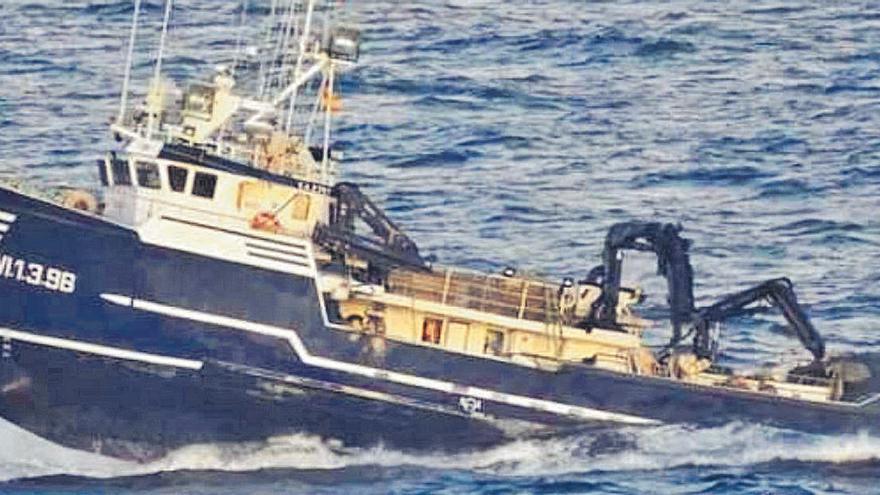 El excesivo peso de las artes de pesca hizo volcar el pesquero 'Sin Querer Dos'