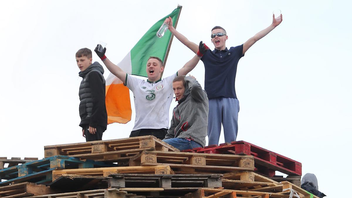 Protestas en Irlanda del Norte.