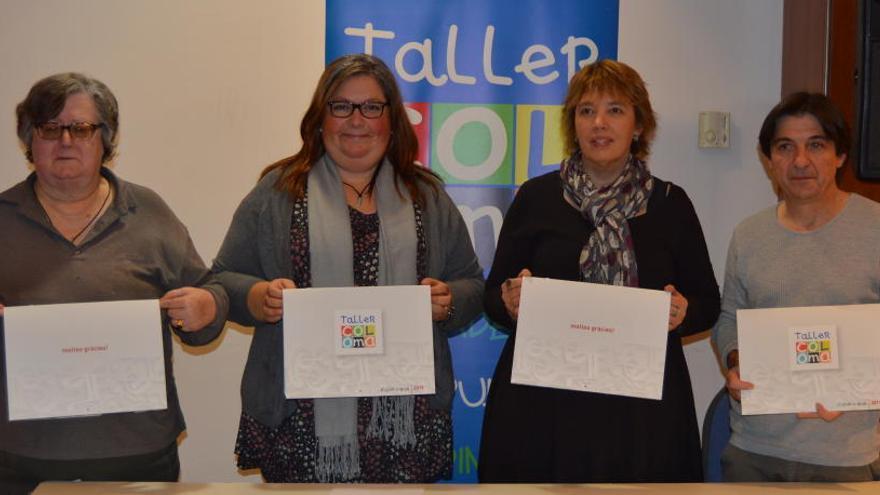 El Taller Coloma presenta el nou calendari solidari amb la música com a protagonista