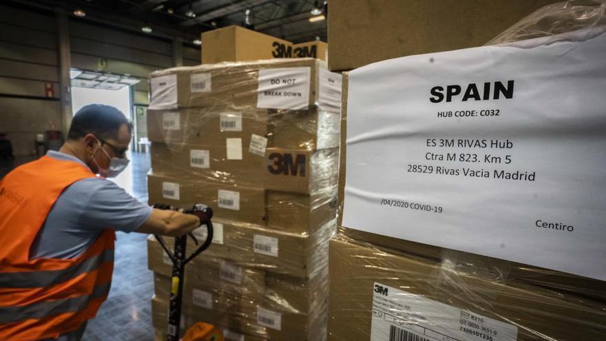 La Generalitat se abastece de productos sanitarios ante un posible rebrote de la pandemia