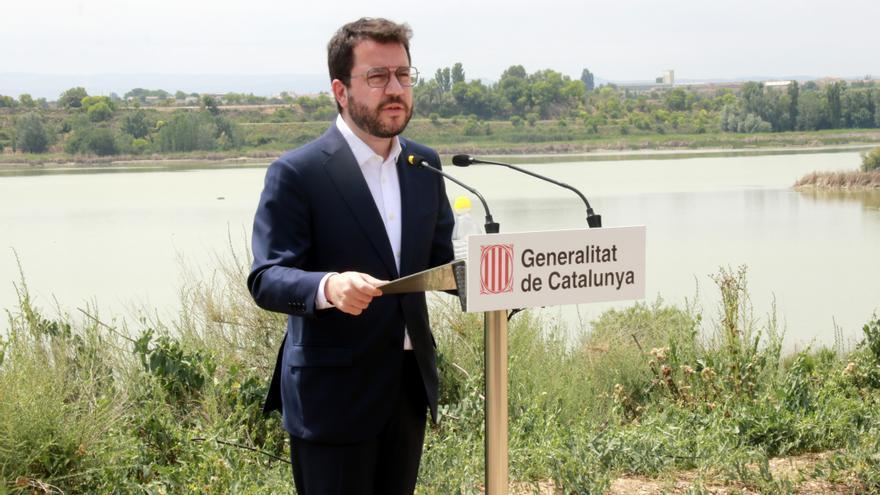 """Aragonès defensa """"obrir una etapa de negociació"""" amb Sánchez"""