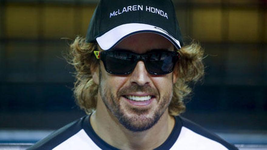 """Alonso: """"Ha sido el mejor fin de semana del año"""""""