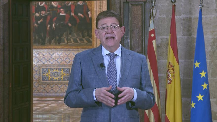 """Ximo Puig apela a mantener la prudencia durante la desescalada como """"medida protectora fundamental mientras avanza la vacunación"""""""