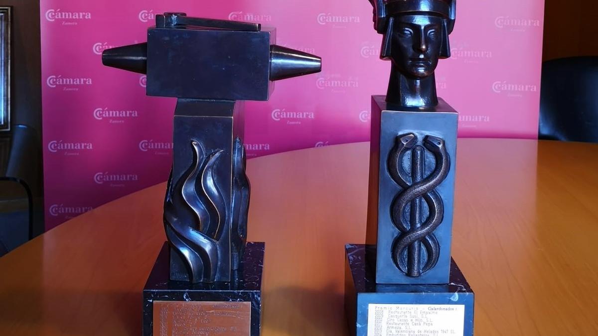 Premios Mercurio y Vulcano que concede la Cámara de Comercio de Zamora
