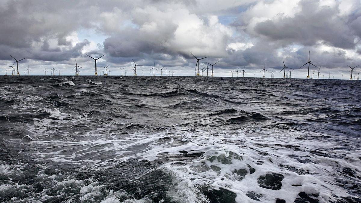 "Parque ""offshore"" Wikinger deIberdrola en Alemania."