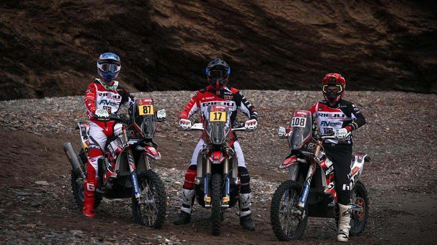 La marca figuerenca Rieju competirà en la categoria-Ria d'Elit del Dakar