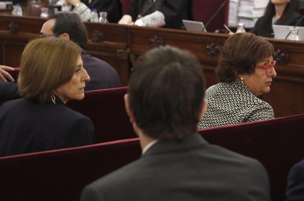 Els acusats del judici del Procés al Tribunal Suprem