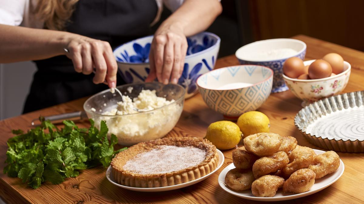 El recetario de Ibiza está repleto de dulces como el 'flaó', la 'greixonera' o los buñuelos, entre otros