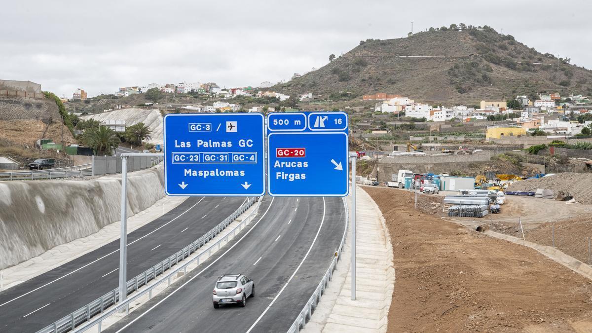 Fase IV Circunvalación de Las Palmas de Gran Canaria que une Arucas y La Costa.