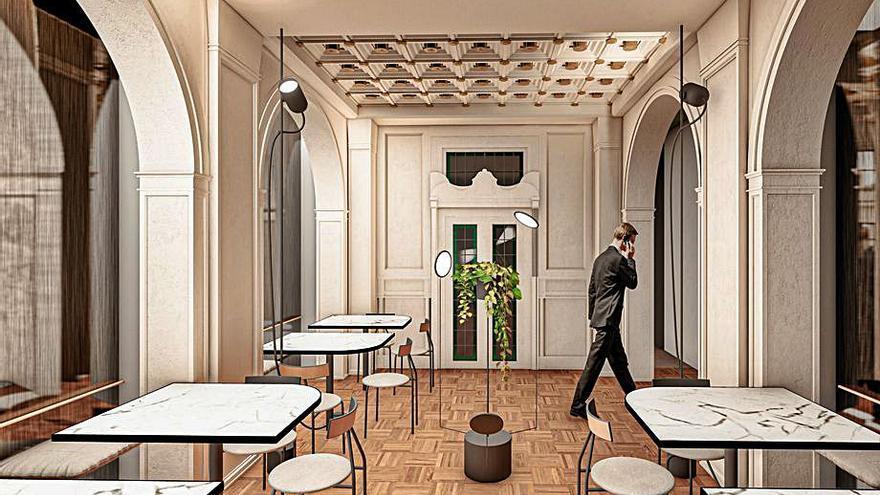 El bar de la antigua joyería Aladrén ampliará su oferta con una tienda 'gourmet'