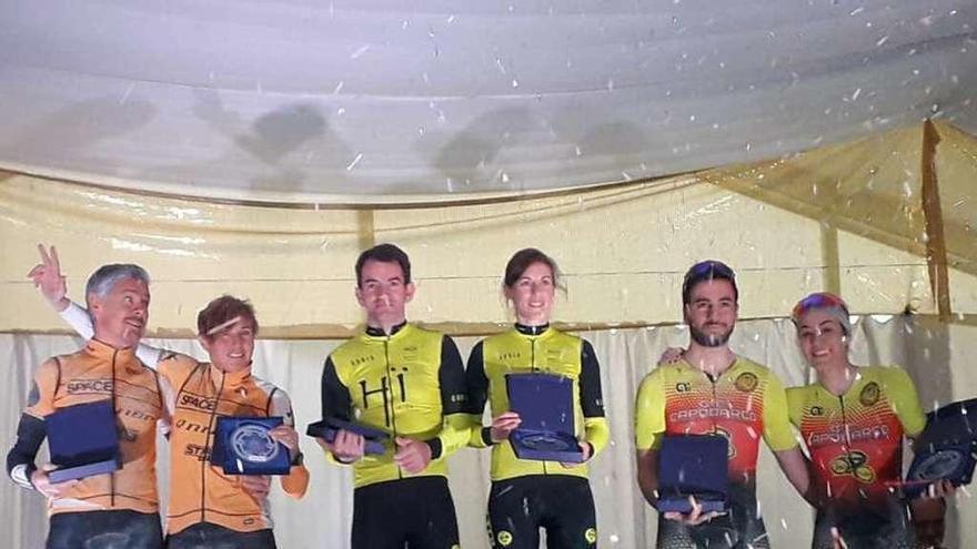 Busto y Lois ganan la Vuelta a Ibiza en la categoría mixta
