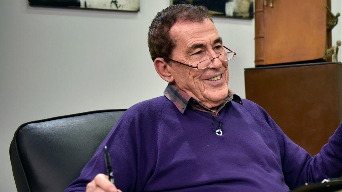 Fernando Sánchez Dragó, en noviembre de 2010